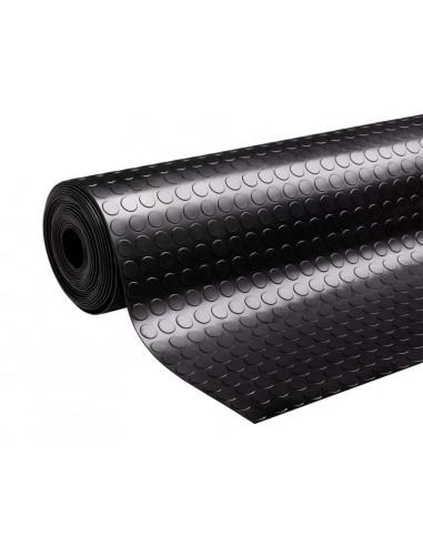 Studded rubber matting roll, 6mm