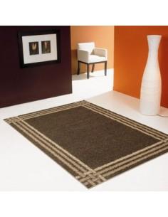 Shaggy rug, rectangular design