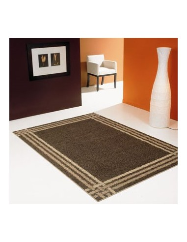Shaggy rug, rectangular design
