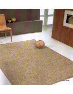 Shaggy rug, plain beige