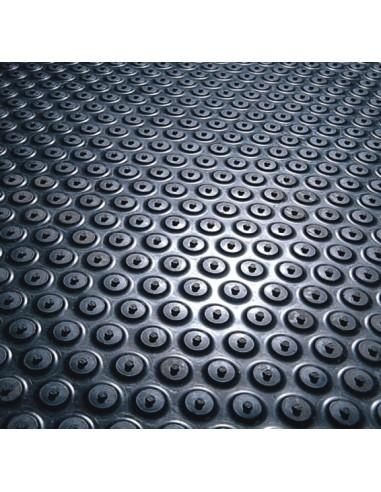 Cushion Coil Anti-Fatigue Rubber Mat, 7.5mm thick