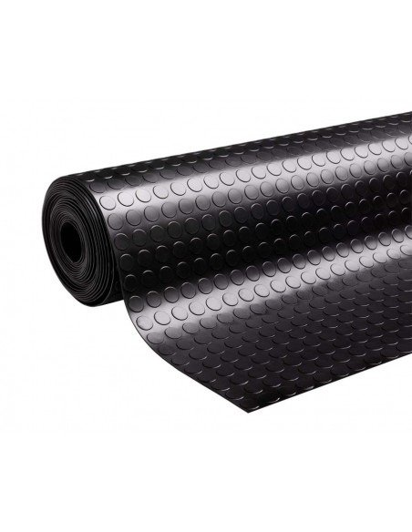 Studded Rubber Matting Roll, 3mm thick