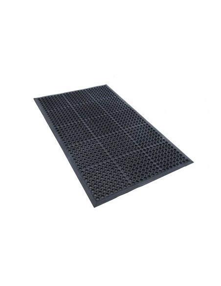 Rubber workstation ring mat