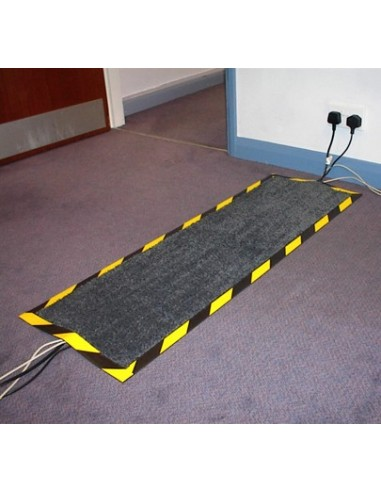 Rubber Cable Cover Mat, 40cm x 120cm