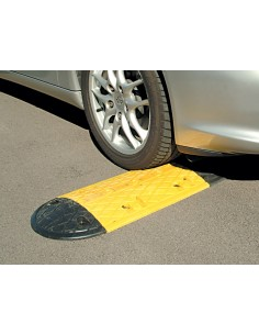 10mph Low Profile Rubber Speed Bump