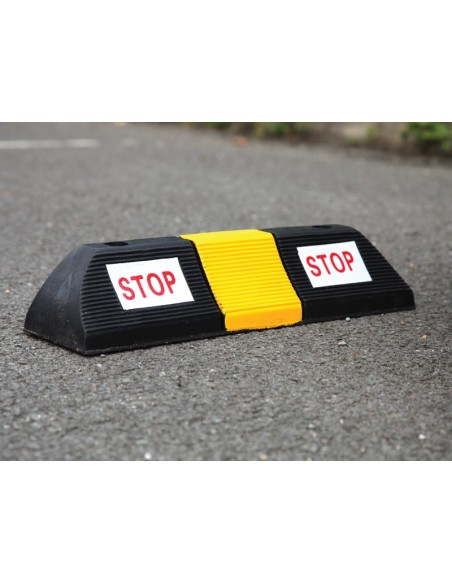 Small Rubber Parking Block, 500mm x 130mm x 100mm
