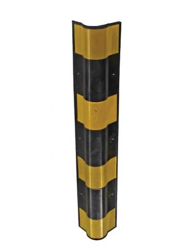 Bullnose Rubber Corner Fender, 800mm x 141mm x 141mm
