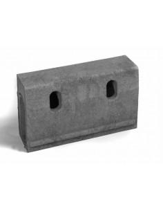 Recycled Plastic Kerb Stone, 500mm x 150mm x 310mm