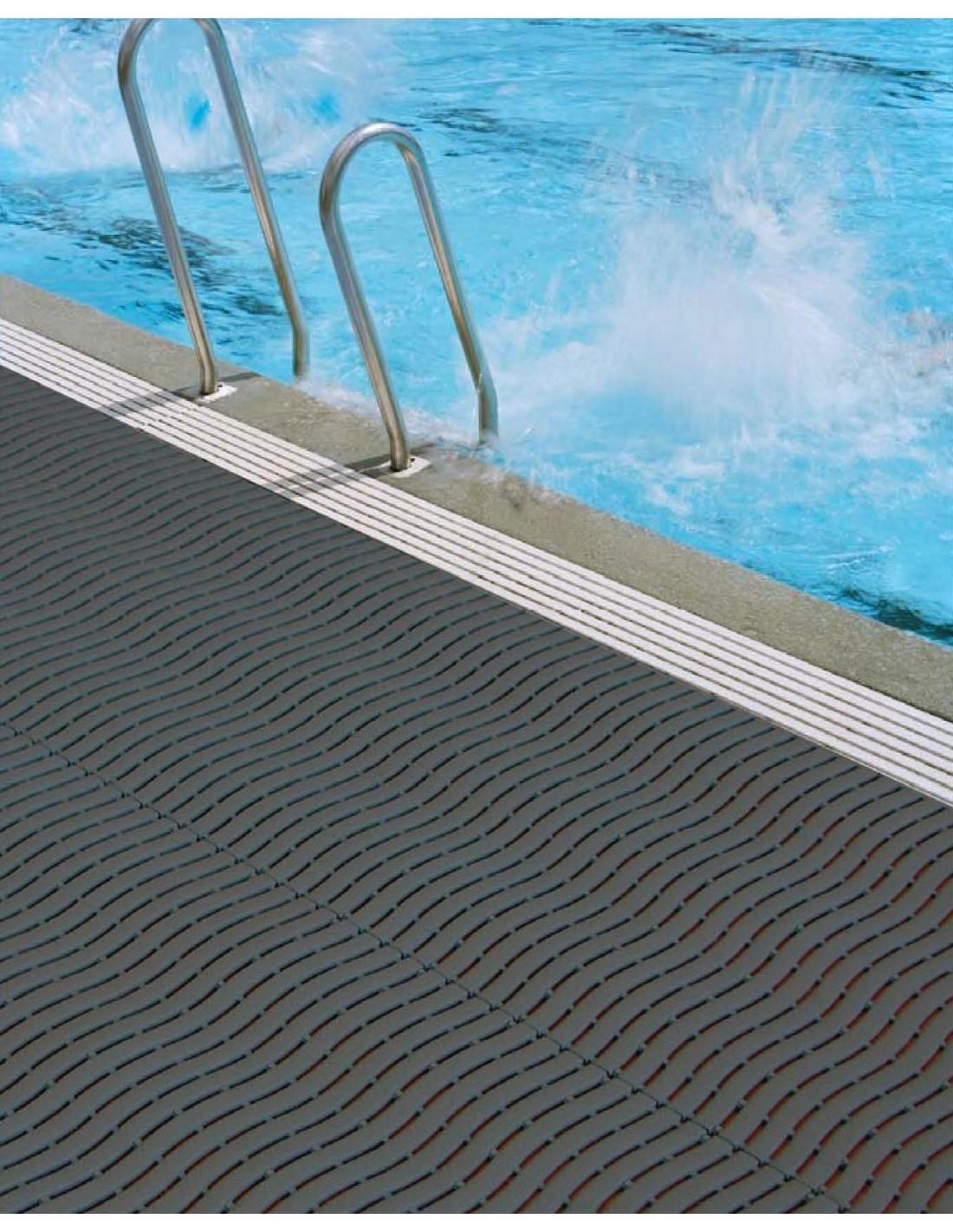 Swimming pool matting anti slip floor matting for use in for Pool floor