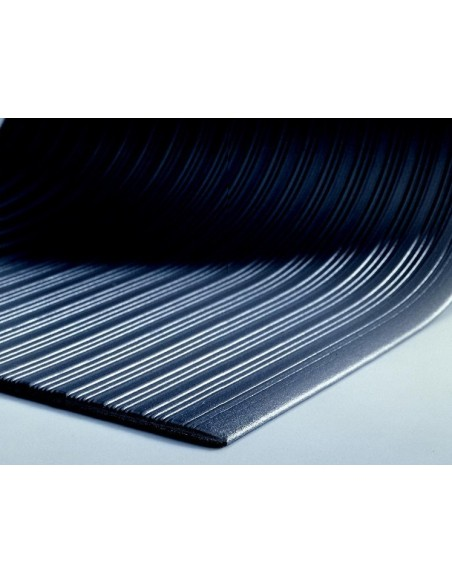 TUFF SPUN Ribbed Anti-Fatigue Matting, 9mm thick