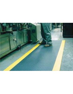 TUFF SPUN PLUS Ribbed PVC Foam Matting, 9mm thick