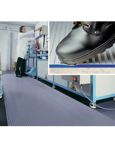 ZED TRED Ribbed Anti-Fatigue Matting, 13mm thick