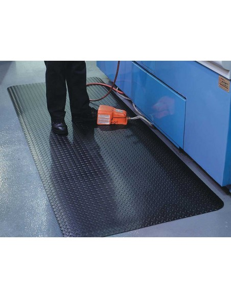 ZED CHEX Anti-Fatigue PVC Foam Matting, 13mm thick