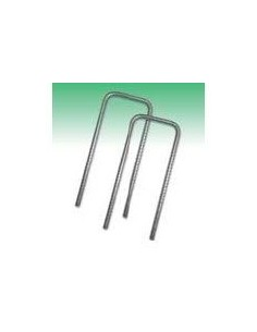Metal Fixing U-Pins for Grass Mesh (Pack of 50)