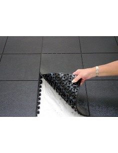 Rubber mat, interlocking, anti slip, anti fatigue