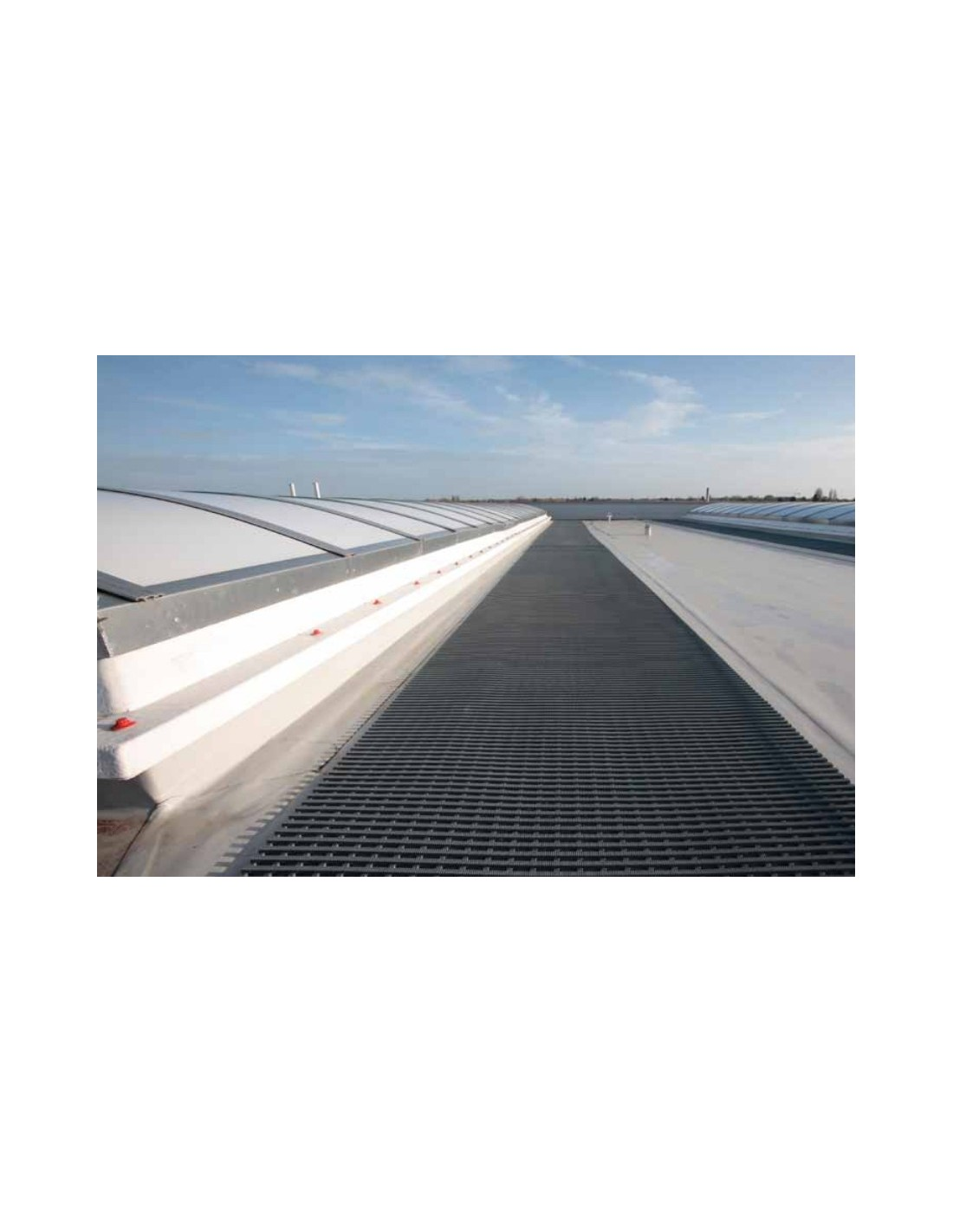 Crossgrip Rooftop Walkway Matting Crossgrip Matting