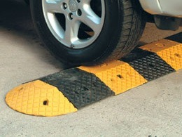 Product Focus: Recycled Rubber Speed Bumps